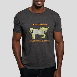 Unicorns - and the theory of evolution Dark T-Shir