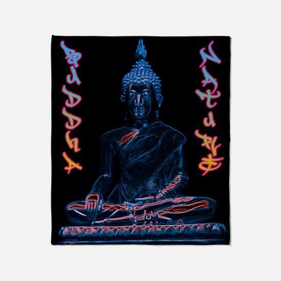 buddhanature Throw Blanket