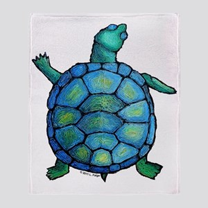 turtleboogie Throw Blanket
