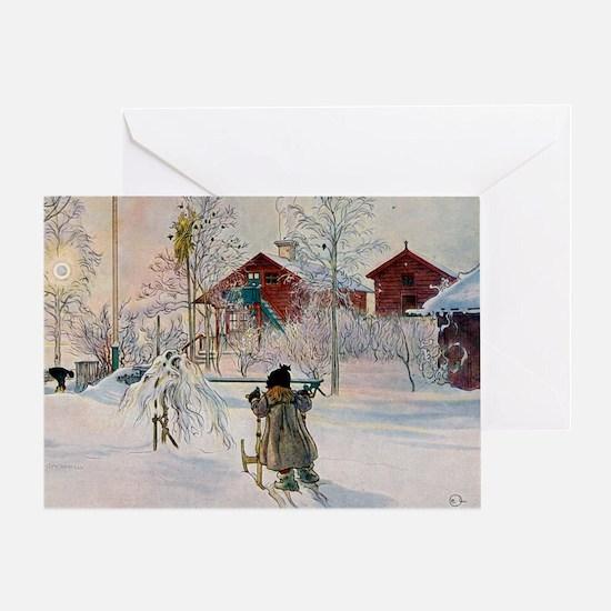 Larsson 3 Greeting Card