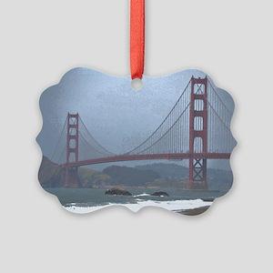 Golden Gate Bridge Picture Ornament
