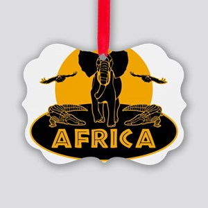 africa Picture Ornament