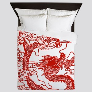 dragon_red Queen Duvet