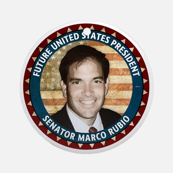 sept_marco_rubio Round Ornament