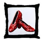 Ruby Slipper Throw Pillow