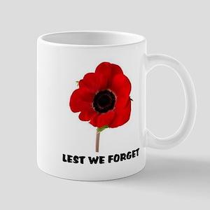 POPPY - LEST WE FORGET Mugs