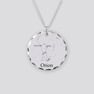 Orion Necklace Circle Charm