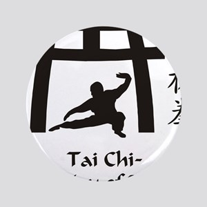 "Phil Tai Chi The Way of Balance 2011 ( 3.5"" Button"
