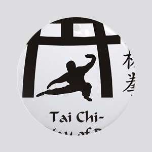 Phil Tai Chi The Way of Balance 201 Round Ornament