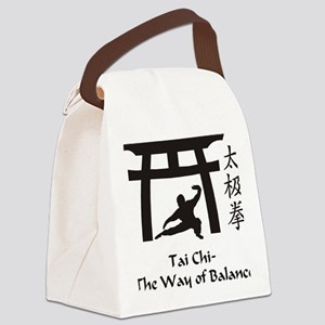 Phil Tai Chi The Way of Balance 2 Canvas Lunch Bag