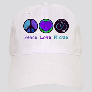 peace_love_nurse Cap