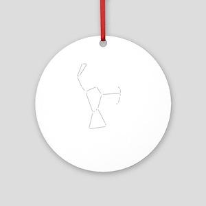 Orion Dark Round Ornament