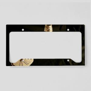 Cards Face Up License Plate Holder