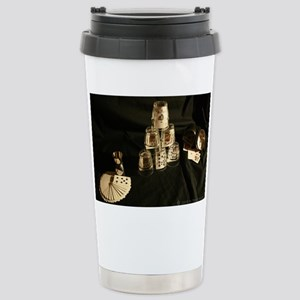 Cards Face Up Stainless Steel Travel Mug