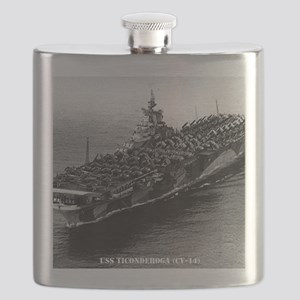 tica cv framed panel print Flask
