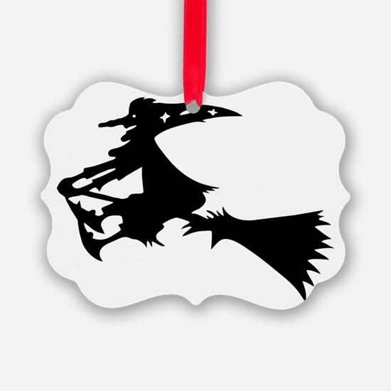 Black Witch Ornament