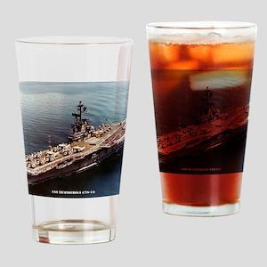 tico cvs framed panel print Drinking Glass