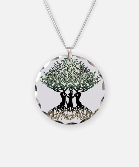Ferret Tree of Life 2 Necklace