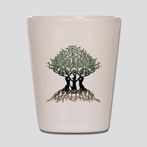 Ferret Tree of Life 2 Shot Glass