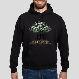 Ferret Tree of Life 2 Hoodie (dark)