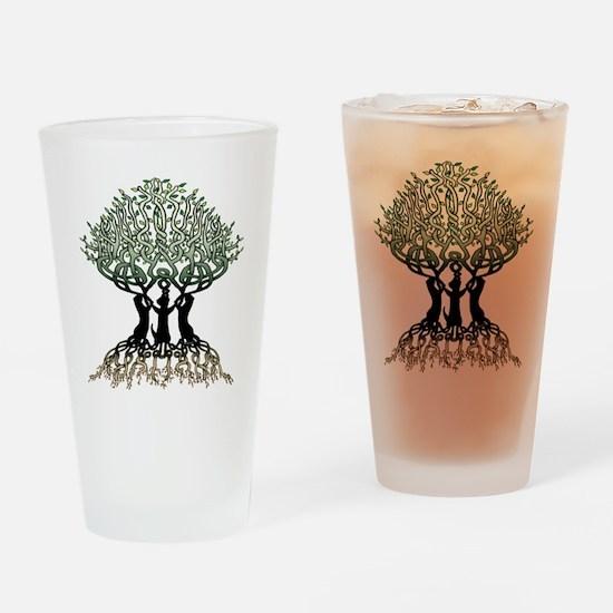 Ferret Tree of Life 2 Drinking Glass