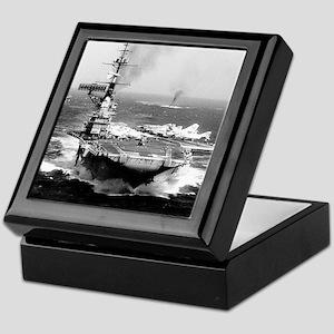 fdr cv framed panel print Keepsake Box