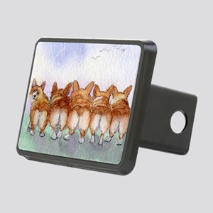 Five walk away together wi Rectangular Hitch Cover