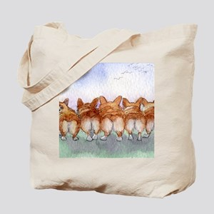 Five walk away together wider Tote Bag