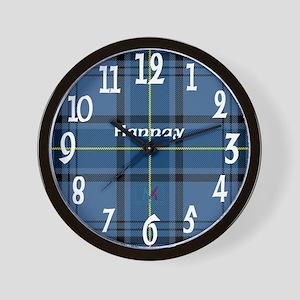 Hannay Clan Wall Clock