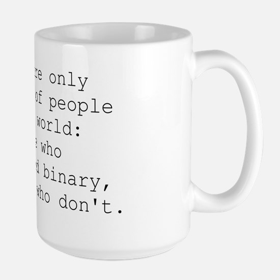 binary_joke-apparel Large Mug