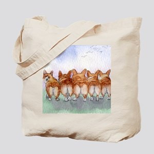 Five walk away together square square Tote Bag