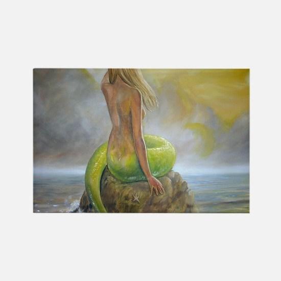 mermaids perch Rectangle Magnet