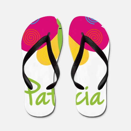 Patricia-the-butterfly Flip Flops