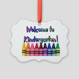 Kindergarten Picture Ornament
