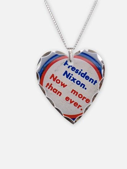 OldNixonButton250 Necklace