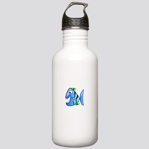 Seafood Diet White Stainless Water Bottle 1.0L