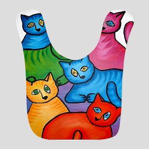 onecattwocat1 Bib