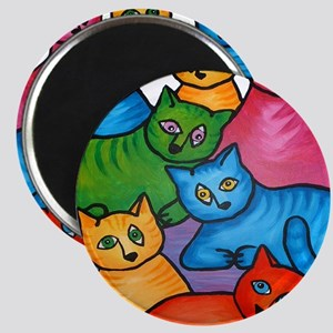 onecattwocat1 Magnet