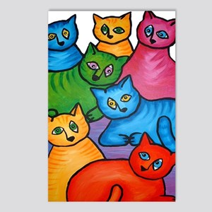 onecattwocat1 Postcards (Package of 8)