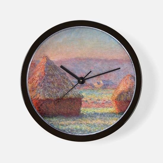 12mo Monet 1 Wall Clock