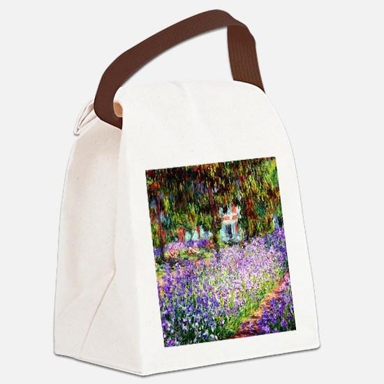 12mo Monet 9 Canvas Lunch Bag