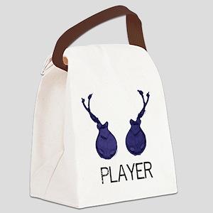 castanetplayerstandard Canvas Lunch Bag