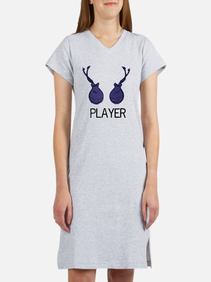 castanetplayerstandard Women's Nightshirt