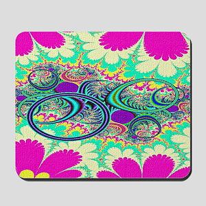 Hippie-Flowers-laptop-skins Mousepad