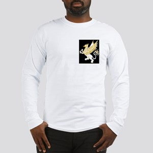 Graphic Gryphon White Gold Long Sleeve T-Shirt