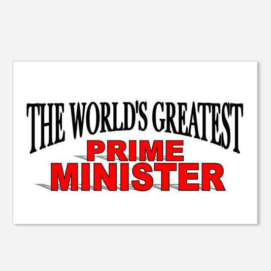 """""""The World's Greatest Prime Minister"""" Postcards (P"""