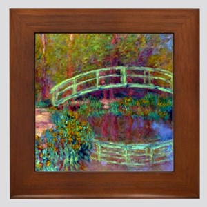 12mo Monet 13 Framed Tile