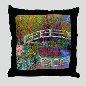 12mo Monet 13 Throw Pillow