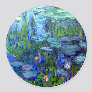 12mo Monet 20 Round Car Magnet