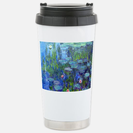 12mo Monet 20 Stainless Steel Travel Mug